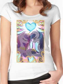 Princess Cadence & Shining Armor Women's Fitted Scoop T-Shirt