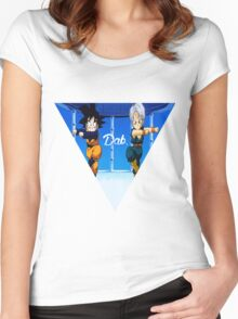 Fusion Dab Women's Fitted Scoop T-Shirt