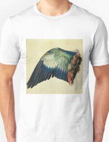 Vintage famous art - Albrecht Durer - Wing Of A Blue Roller Unisex T-Shirt