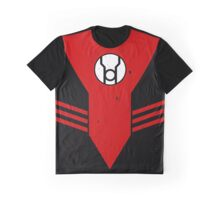 Red Lantern Chest Piece Graphic T-Shirt
