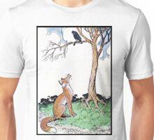 Fox, Falco, and The Tree of Wisdom Unisex T-Shirt
