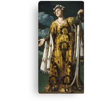 Vintage famous art - Alessandro Turchi  - Allegory Of Hope Canvas Print