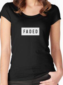 alan walker faded Women's Fitted Scoop T-Shirt