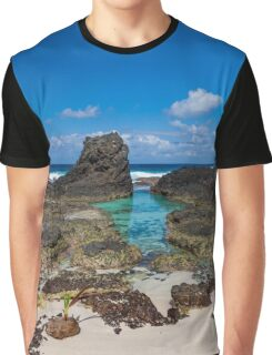 Dolly Beach - Natural Spa Graphic T-Shirt