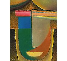 Vintage famous art - Alexei Jawlensky  - Abstract Head Photographic Print