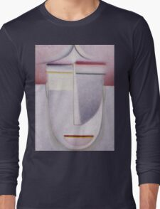 Vintage famous art - Alexei Jawlensky  - Abstract Head Africa Long Sleeve T-Shirt