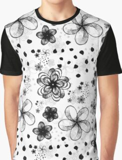 sketchy flowers Graphic T-Shirt