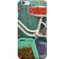 Red hot chili pepper bike , Kho Lipe , Thailand iPhone Case/Skin