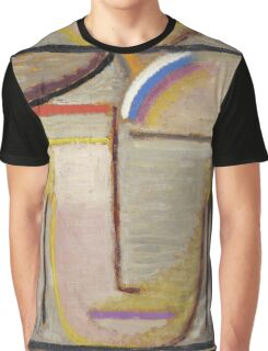 Vintage famous art - Alexei Jawlensky  - Abstract Head Composition No 2  Winter  Graphic T-Shirt