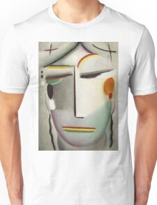 Vintage famous art - Alexei Jawlensky  - Heilandsgesicht Remote King - Buddha Ii Unisex T-Shirt