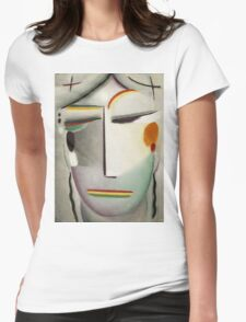 Vintage famous art - Alexei Jawlensky  - Heilandsgesicht Remote King - Buddha Ii Womens Fitted T-Shirt