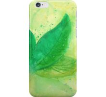 Fresh Leaf iPhone Case/Skin