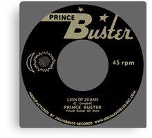 Vinyl : Lion Of Judah Canvas Print