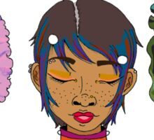Space Girls of Color for the 22nd Century Sticker