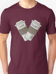 coffee heart Unisex T-Shirt