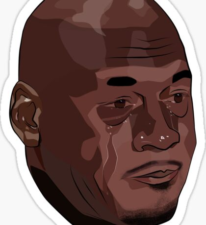 Crying Jordan Sticker