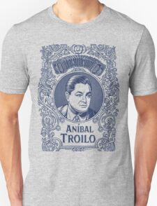 Anibal Troilo in Blue Unisex T-Shirt