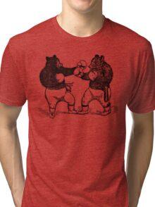 Boxing Bears Tri-blend T-Shirt