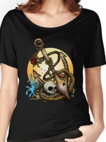 Anchored  Women's Relaxed Fit T-Shirt