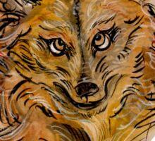 Maned Wolf Portrait Sticker