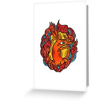 Charizard Portrait Greeting Card