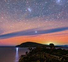 Aurora Australis at Goats Bluff Sticker