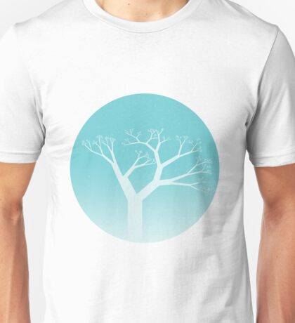 Snow Globe -  Tree Unisex T-Shirt