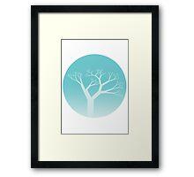 Snow Globe -  Tree Framed Print