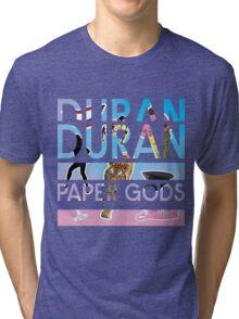 DURAN DURAN PAPER GODS TOUR 2016 Tri-blend T-Shirt