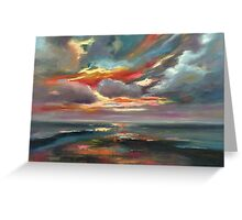 Sky variations N2 Greeting Card