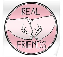 REAL FRIENDS Poster