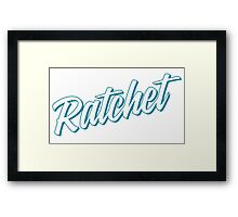Ratchet [Rupaul's Drag Race] Framed Print