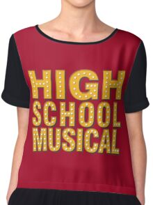 High School And Musical Chiffon Top