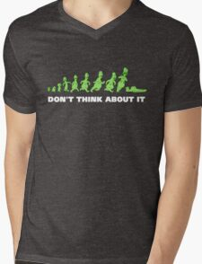 Rick and Morty - Don't think about it! Mens V-Neck T-Shirt