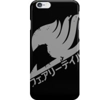 Mark Of Fairy Tail Guild iPhone Case/Skin