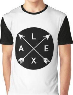 Lexa crossed arrows (The 100) Graphic T-Shirt