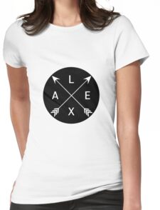 Lexa crossed arrows (The 100) Womens Fitted T-Shirt