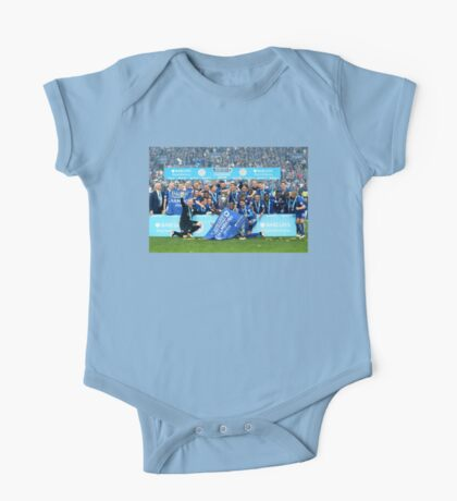 Leicester City Title Celebrations #LCFC (T-shirt, Phone Case & more)  One Piece - Short Sleeve