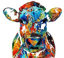 Cow color Photographic Print