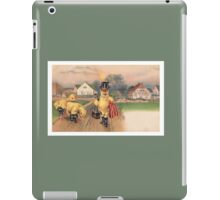 Anthropomorphic Chicken Wearing Boots and Top Hat iPad Case/Skin
