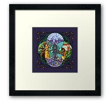 Ekalavya & Drona's Price Framed Print
