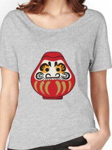 Cute Daruma doll Women's Relaxed Fit T-Shirt