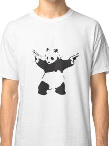 Panda the Gunslinger Classic T-Shirt