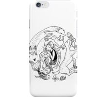 Little Angel and Animals iPhone Case/Skin