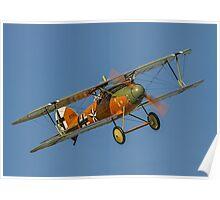 TVAL Albatros D.Va-1  D.7343/17 ZK-TVD Poster