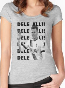 Dele Alli! Dele Alli! Women's Fitted Scoop T-Shirt