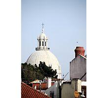 Traditional skyline –Lisbon, Portugal Photographic Print