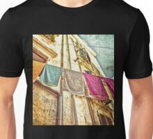 Towels Hanging  In Corfu Old Town  Unisex T-Shirt