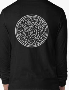 (Shapes) Calligraffiti (White) Long Sleeve T-Shirt