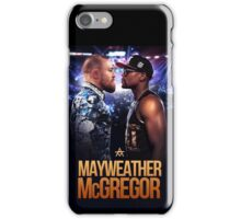 Floyd Mayweather Vs Conor McGregor (T-shirt, Phone Case & more) iPhone Case/Skin